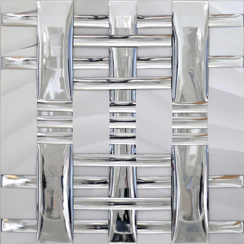 Aniko Robitz, Woven Mirror, Woven Mirror 3, 2019
